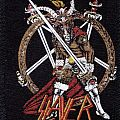 slayer show no mercy  re- printed woven patch vintage look