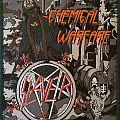 Slayer Chemical warfare patch /aufnaher Lim. edition! green rim/border