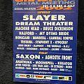 Slayer grasspop booklet