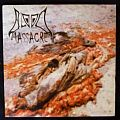 "Blood – Massacre/Ketzer Records /KV 010/ Vinyl, 7"", Repress, Limited Edition, Green"