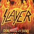 2016 20 and 21  june  doorn roosje slayer affiche / mini poster  Other Collectable