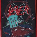 slayer reign in pain patch wit red rim  limited to 100 pieces