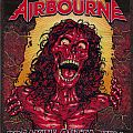 airbourne breakin'outta hell 12 collor woven patch :limited to 100 p