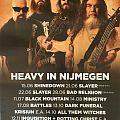 2016 XXL poster Doorn Roosje Nijmegen Netherlands tourdates and info