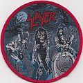 slayer live undead re-woven patch