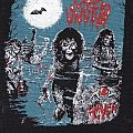 slayer live undead re- printed woven patch vintage look