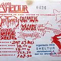 Obituary - Other Collectable - concert ticket
