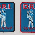 D.R.I  I dont need society woven patch