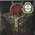 "Slayer ‎– You Against You  Nuclear Blast ‎– NB 3775-1  Vinyl, 7"", 45 RPM, Single, Limited Edition, Splatter Red with Black"