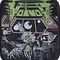 Voivod killing technology limited edition patch 2016