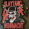 slayer slaytanic wehrmacht woven packpatch 2015