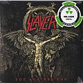 "Slayer ‎– You Against You  Nuclear Blast ‎– NB 3775-1 Vinyl, 7"", 45 RPM, Single, Limited Edition, Silver"