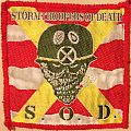 S.O.D. (Stormtroopers Of Death) patch