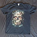 slayer pinned skull european tour shirt 2017