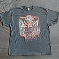 Slayer 2018 tour shirt eagle
