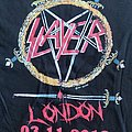 Slayer shirt London 2018