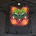 Slayer diabolous on tour 1999 u.s
