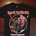 "Iron Maiden ""North American Tour 2012"" T-Shirt"