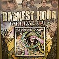 """Darkest Hour - Other Collectable - Darkest Hour """"Deliver Us"""" Promo Poster Signed By Entire Band"""