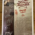 """King Diamond - Other Collectable - King Diamond """"The Institute"""" Tour Poster Autographed By Entire Band"""
