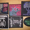 Morbid Angel, Nocturnal Graves, Impaled Nazarene, Armoured Angel, Gospel Of The Horns, Cathedral Patches