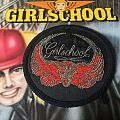 Girlschool original vintage patch