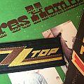 ZZ Top - Patch - ZZ top original vintage patch