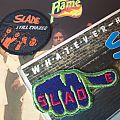 Two Slade original vintage patch