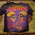 Metallica - Full Print T-Shirt Sad But True 92'  (Both Sided)