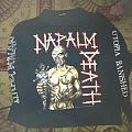 Napalm Death - Utopia Banished 93' longsleeve TShirt or Longsleeve