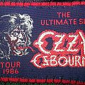 Ozzy Osbourne Ultimate sin tour patch
