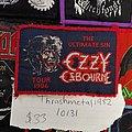 Ozzy Osbourne - Patch - Ozzy Osbourne 1986 Ultimate sin