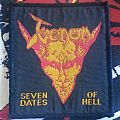 Venom seven dates of hell tour patch
