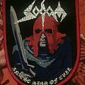 Sodom - In the sign of evil woven patch