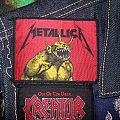 Metallica - jump in the fire Patch