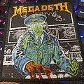 Megadeth - Patch - Rare Megadeth