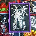 Witchfynde - Patch - Witchfynde purple border original