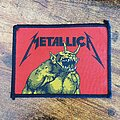 Metallica - Patch - Metallica Jump in the fire