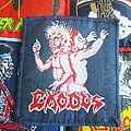 Exodus - Patch - Exodus bonded by blood blue border original