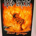 Iced Earth - Burnt Offerings Backpatch