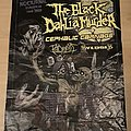The Black Dahlia Murder - Other Collectable - Nocturnal EU tour 2009 poster: The Black Dahlia Murder, Cephalic Carnage,..