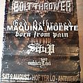 Bolt Thrower, God Dethroned 2008 Hof Ter Lo, Antwerp poster