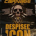 Despised Icon / Cephalic Carnage 2007 EU tour poster