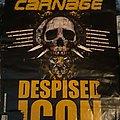Despised Icon - Other Collectable - Despised Icon / Cephalic Carnage 2007 EU tour poster