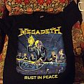 SOLD Megadeth Rust In Peace T Shirt