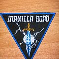 Manilla Road triangle Patch