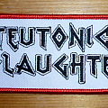 Teutonic Slaughter logo patch