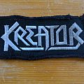 Kreator logo patch