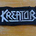 Kreator logo patch