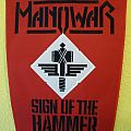 Manowar Sign of the Hammer backpatch